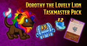Crusaders of the Lost Idols: Dorothy the Lovely Lion Taskmaster Pack