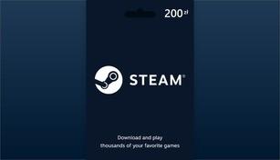 Steam Wallet Gift Card 200 PLN