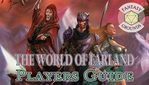 Fantasy Grounds - World of Farland Players Guide