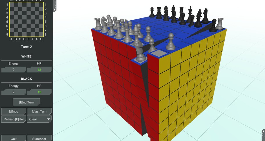 Chess Cubed