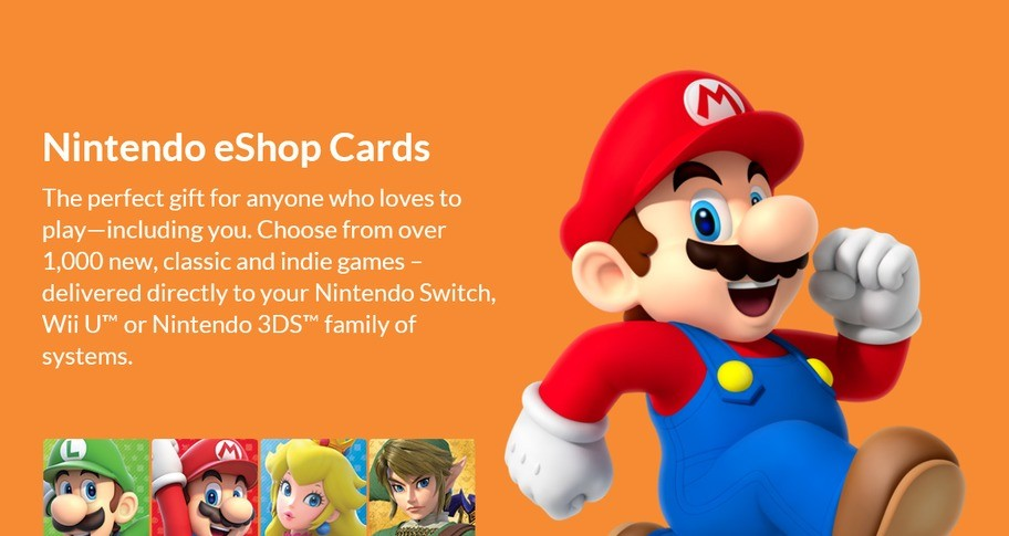 Nintendo eShop Gift Card 35 USD
