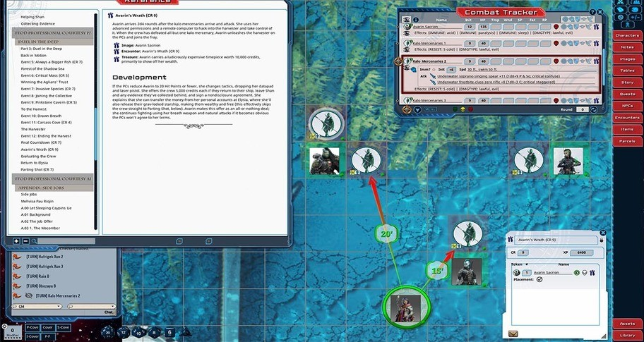 Fantasy Grounds - Starfinder RPG - Adventure Path #36: Professional Courtesy (Fly Free or Die 3 of 6)