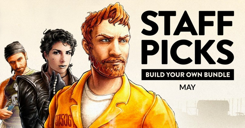 Fanatical - Staff Picks Build your own Bundle - May 2021