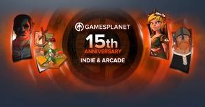 Gamesplanet 15th Anniversary - Indie & Arcade Sale