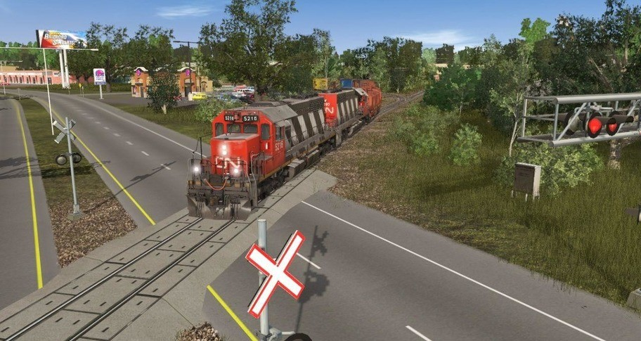 Trainz 2019 DLC - Lafond Regional Railway