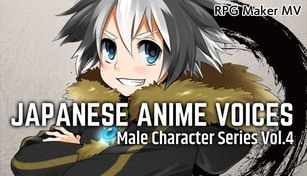 RPG Maker MV - Japanese Anime Voices:Male Character Series Vol.4