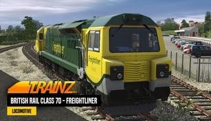Trainz 2019 DLC - British Rail Class 70 - Freightliner