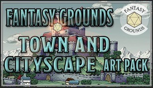 Fantasy Grounds - FG Town & Cityscapes Map Pack