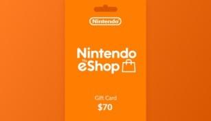 Nintendo eShop Gift Card 70 USD