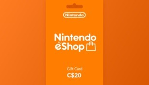 Nintendo eShop Gift Card 20 CAD