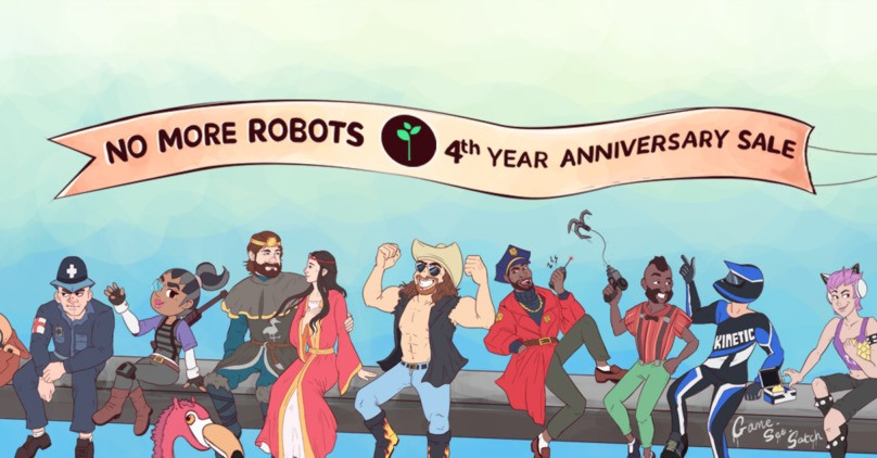 Steam Weekend Deals - No More Robots 4th Anniversary Sale, Evo Fighting Game Sale, and more!