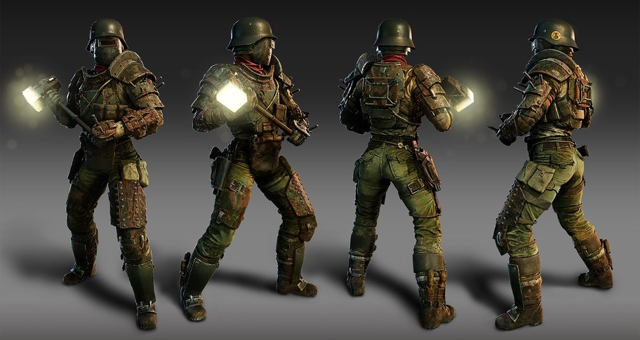 Zombie Army 4: Armour Plated Shola Outfit