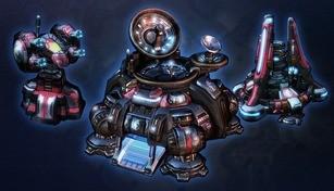 StarCraft II: Terran Tyrador Structure Skins Bundle