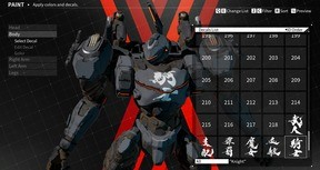DAEMON X MACHINA - Arsenal Decals Bundle - The Brushstrokes of Souun Takeda
