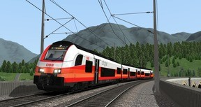 Train Simulator: ÖBB 4744 'Cityjet' EMU Add-On
