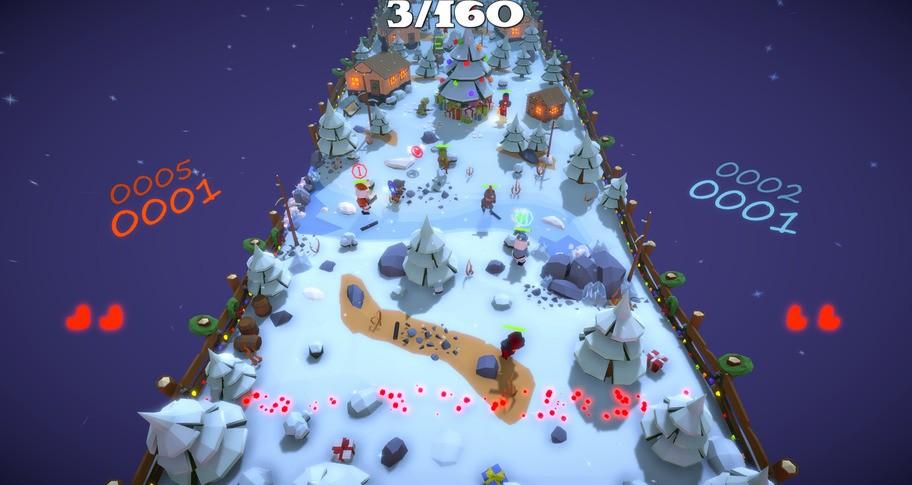 My Super Defender: Battle Santa Edition