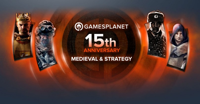 Gamesplanet 15th Anniversary - Medieval & Strategy Sale