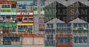RPG Maker MZ - DorapixelMapChips - Modern JP Custom