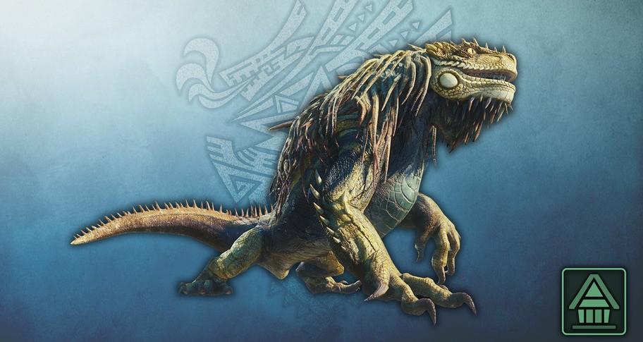 Monster Hunter World: Iceborne - MHW:I Monster Figure: Great Jagras