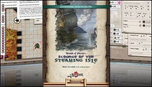 Fantasy Grounds - Islands of Plunder: Scourge of the Steaming Isle (PFRPG)