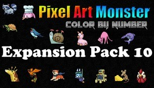 Pixel Art Monster - Expansion Pack 10