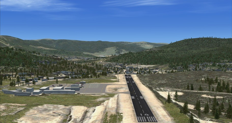 FSX Steam Edition: Steamboat Springs (KSBS) Add-On
