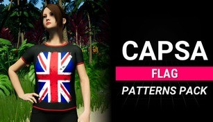 Capsa - Character Flags Patterns Pack