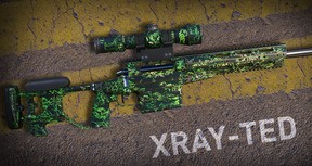 Sniper Ghost Warrior Contracts 2 - Xray-ted Skin
