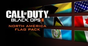 Call of Duty: Black Ops II - North American Flags of the World Calling Card Pack