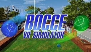 Bocce VR Simulator