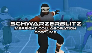 Schwarzerblitz - Merfight Collaboration Costume