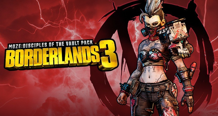 Borderlands 3: Multiverse Disciples of the Vault Moze Cosmetic Pack