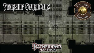 Fantasy Grounds - Pathfinder Map Pack: Starship Corridors
