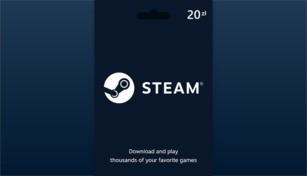 Steam Wallet Gift Card 20 PLN