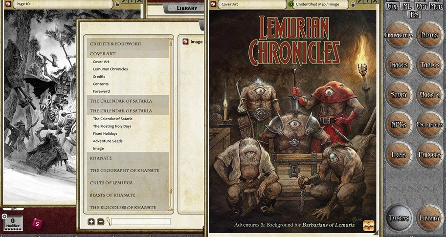 Fantasy Grounds - Lemurian Chronicles