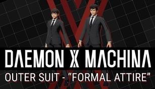"DAEMON X MACHINA - Outer Suit - ""Formal Attire"""