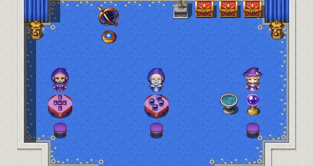 RPG Maker MZ - Magic Shop Animated Interior Pack
