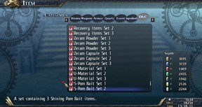 The Legend of Heroes: Trails of Cold Steel II - Shining Pom Bait Set 2