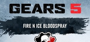 Gears 5 - Fire N Ice Coloured Blood Spray