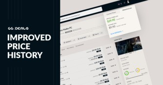 Improved price history on GG.deals - track price changes from all stores!