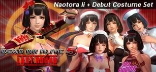 DOA5LR Naotora Ii + Debut Costume Set