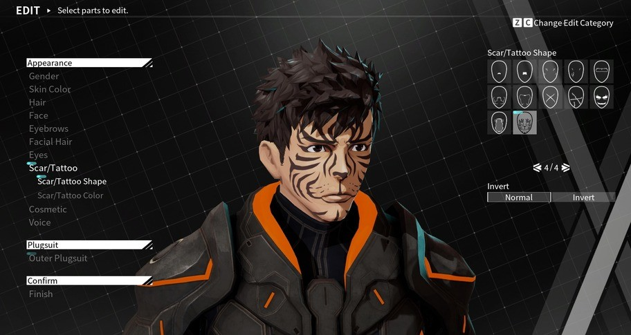 DAEMON X MACHINA - Outer Facial Features Bundle 1