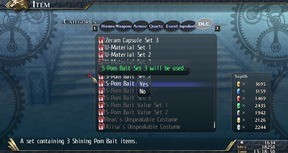 The Legend of Heroes: Trails of Cold Steel II - Shining Pom Bait Set 3