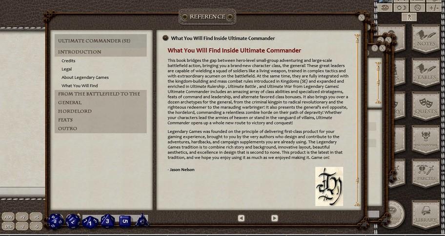 Fantasy Grounds - Ultimate Commander (5E)