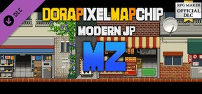 RPG Maker MZ - DorapixelMapChips - Modern JP