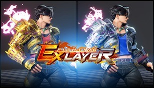 FIGHTING EX LAYER - Color Gold/Silver: Hayate