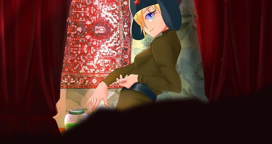 SOVIET GIRL: HENTAI PUZZLE GAME