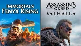 Assassin's Creed Valhalla + Immortals Fenyx Rising Bundle