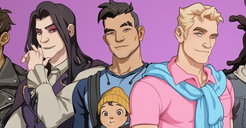 Free Dream Daddy: A Dad Dating Simulator for Twitch Prime users