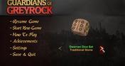 Guardians of Greyrock - Dice Pack: Dwarven Set